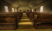 Friendship Baptist Church in Wilkes County, Georgia, was founded in 1831. The interior is filled with images that comfort the senses.  The light patterns on the worn aisle carpet, the dramatic grain of the original heart pine pews, the table in the center with a fresh bowl of flowers. This church is inactive but still loved by someone.  This is a part of the Historic Rural Churches of Georgia (HRCGA.ORG) project that I've been working on.