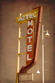 Another awesome vintage sign along Route 66 near Albuquerque, New Mexico.