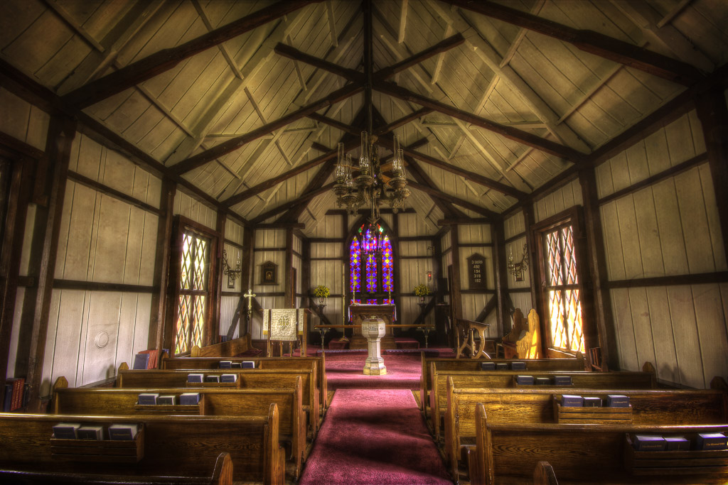 Dating Back To 1868 Greensboro Georgias Church Of The Redeemer Is An Unusual And