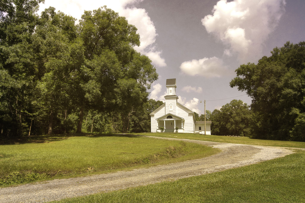 Friendship Baptist Church, Oglethorpe County - Landscape ...