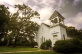This beautiful country church was established in 1891. It is close to the city center of Maxey's, Georgia. This is a part of the Historic Rural Churches of Georgia (HRCGA.ORG) project that I've been working on.