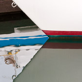 Closeup details from boats in Newport Bay, Oregon.  You need very calm water and an overcast day to make these work.