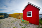 A random lobster shack on the oast of Maine.  I loved the contrast of the colors.