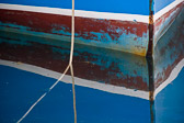 Taken at the right angle, these boat reflection images make lovely abstract art.