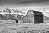 This barn on Mormon Row in Grand Teton National Park has got to be in about the best possible setting for beautiful images.