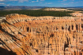 Sunrises are magical in Bryce Canyon...the hoodoos literally glow orange as the rising sun illuminates each one.