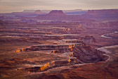 One of the many beautiful panoramic vistas in Canyonlands National Park.