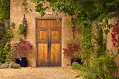 One of many wonderful doorways you see wandering the old streets of Santa Fe, new Mexico.