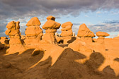 Goblin Valley State Park is a fascinating place to explore...there are hundreds of these little goblins everywhere.