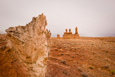 These strange hoodoos guard the entrance to Goblin Valley State Park in Utah.